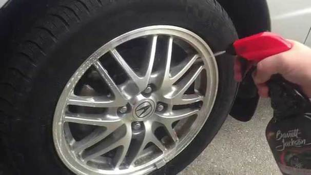 How to clean aluminum wheel image
