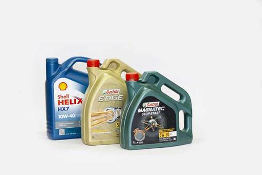 types of engine oils