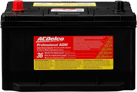 ACDelco 65AGMHR Professional Battery