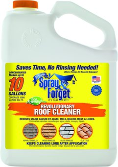Spray & Forget Revolutionary Roof Cleaner