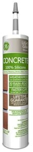 General Electric GE5020 Concrete and Masonry Silicone II Caulk